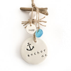 Ceramic Decor 'Anchor Me'