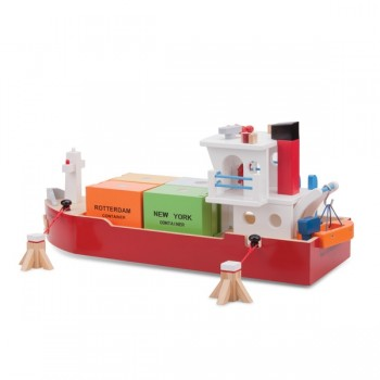 Artiwood Container Ship Toy