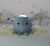 Crumpet the Octopus Hug Tap Light in Blue