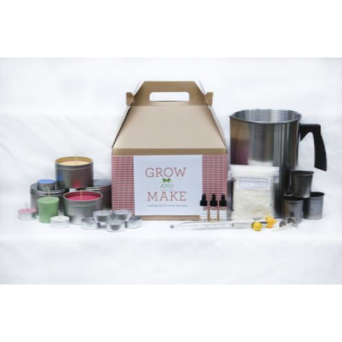 Complete DIY Soy Wax Candle Making Kit (makes 68 candles)