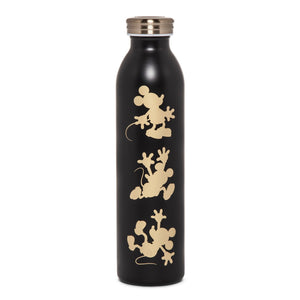 Disney Mickey Mouse & Friends Retro Mickey Water Bottle 20oz - Gold