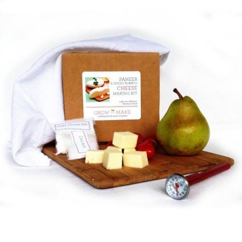 Paneer and Queso Blanco DIY Cheese Making Kit