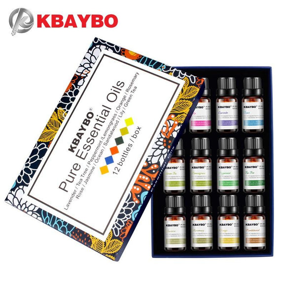10ml Essential Oils Oil For Aromatherapy Diffusers Essential Oils Organic Body Relax Skin Care Help Sleep With 12 Kinds  Auto renew