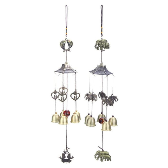 Antique Metal Wind Chime Chapel Wind Bells Yard Garden Hanging Decoration Handmade Windchimes Ornament Craft Gifts