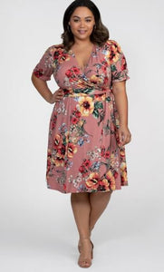 Copy of Tuscan Tie Wrap Dress