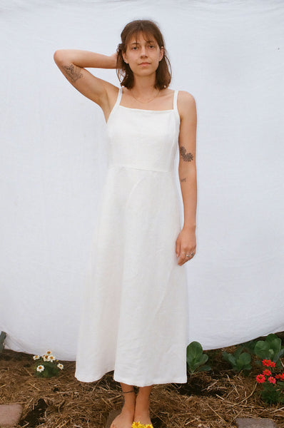 Floss Dress — Off White