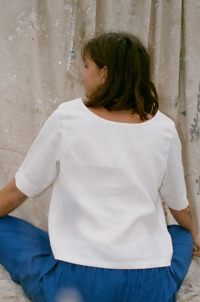 Anna Blouse — Off White