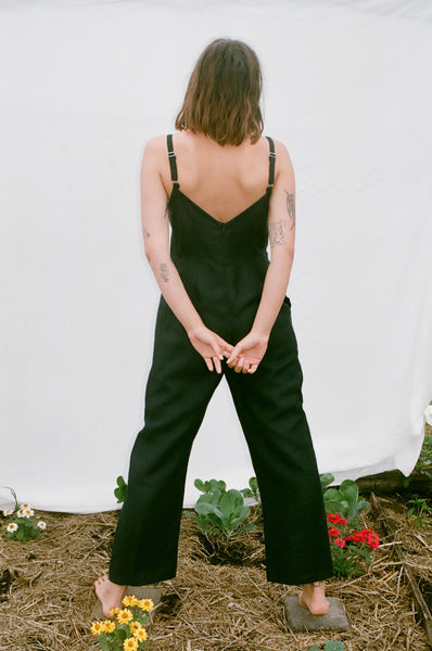 Jasmine Jumpsuit — Black