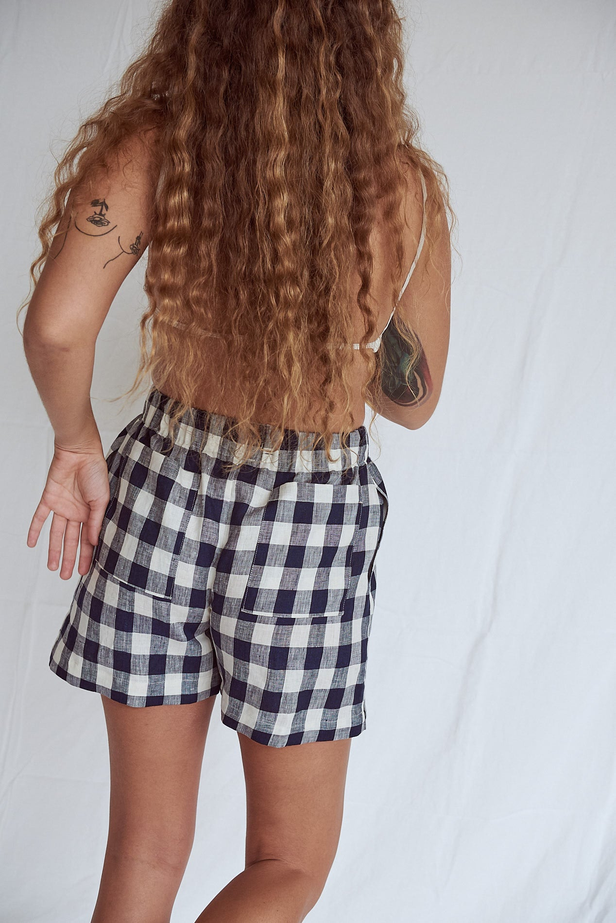 Picnic Scrunchie Shorts