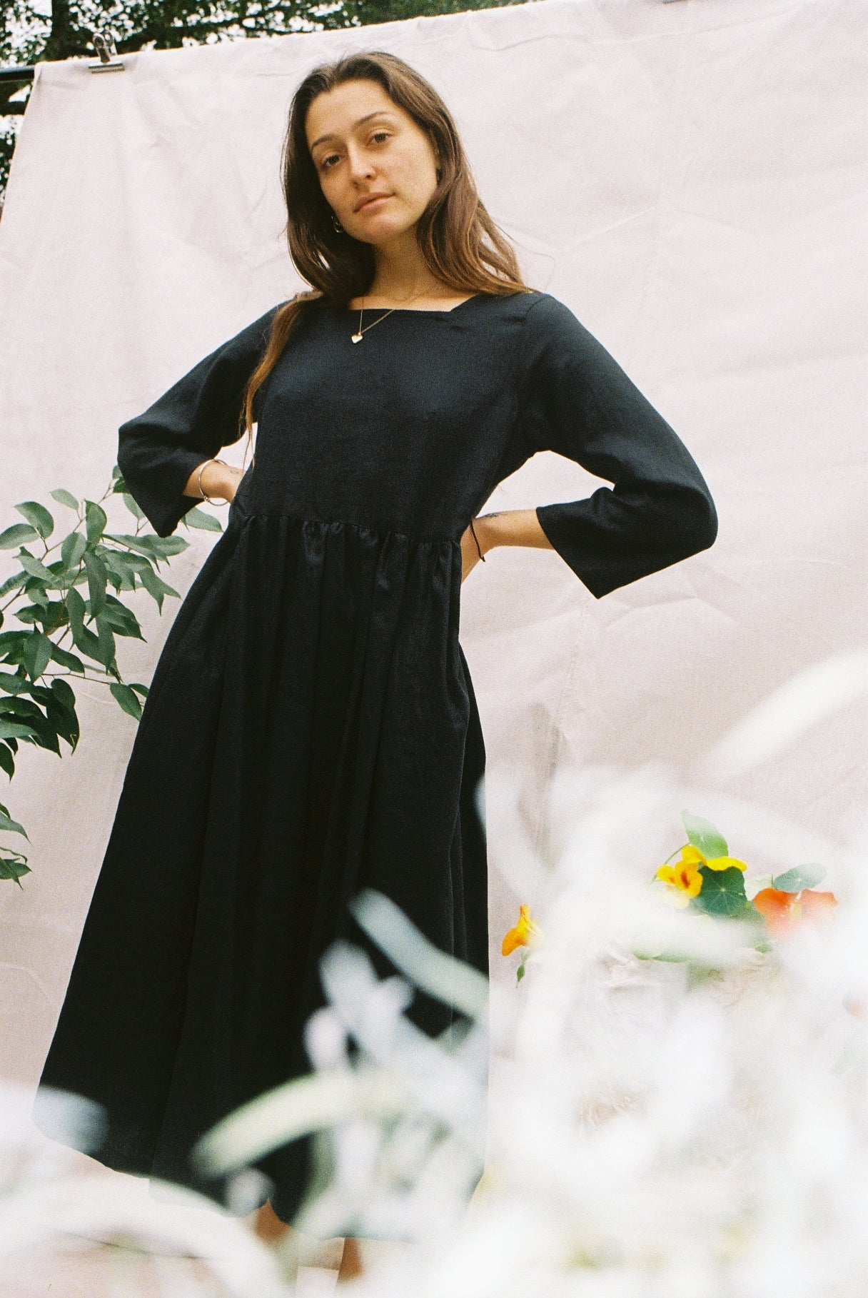 Emma Dress — Black