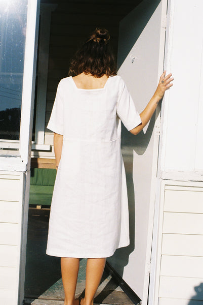 Frank Dress — Off White