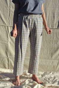 PRE ORDER — Scrunchie Pants — Alfresco Check