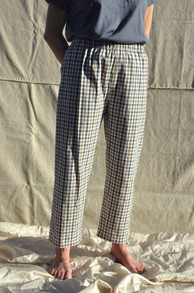 Scrunchie Pants — Alfresco Check