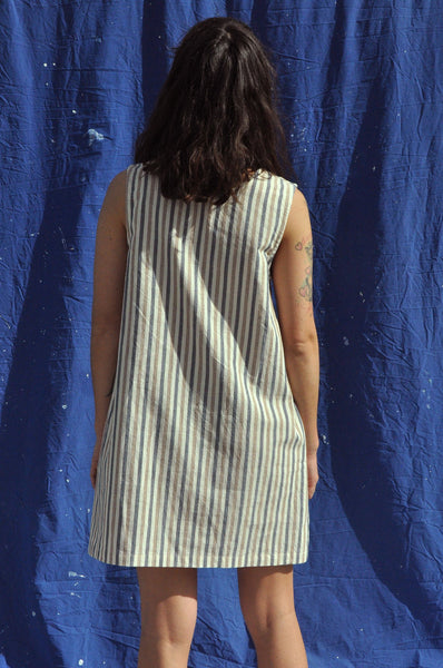 Pinafore — Alfresco Stripe