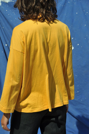 Long Sleeve Big Tee — Corn