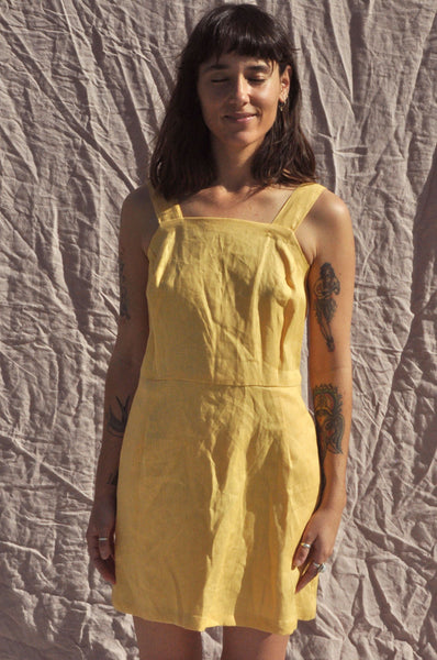 Fitted Dress — Butter