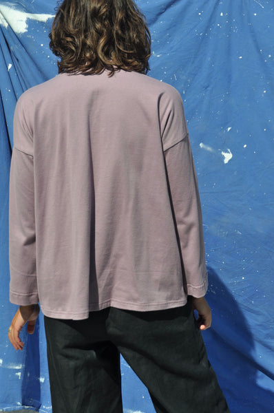 Long Sleeve Big Tee — Dusk