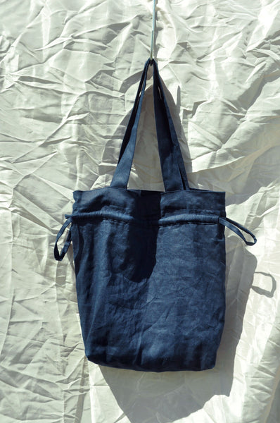 Scrunchie Tote Bag — Deep Sea