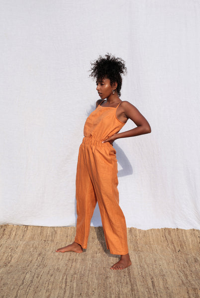Tangerine Scrunchie Pants