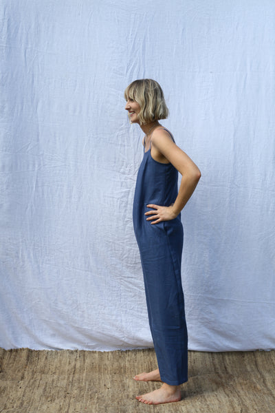 Ocean Strappy Jumpsuit