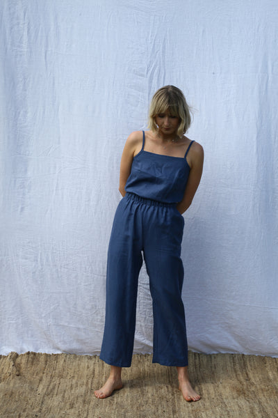 Ocean Scrunchie Pants