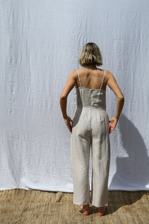 Pearl Fitted Strappy Jumpsuit
