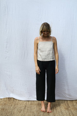 Black Scrunchie Pants