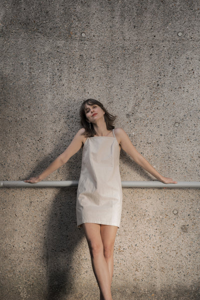 Simple Pleasures Dress - Sand