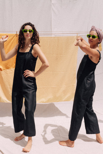 Summer Jumpsuit — Black