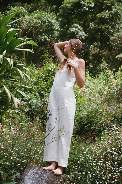 Jasmine Jumpsuit — Off White