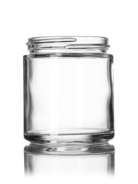 120 ml clear glass jar