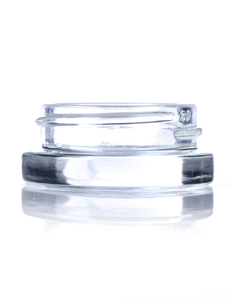 7 ml clear glass jar