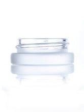 7 ml frosted glass jar