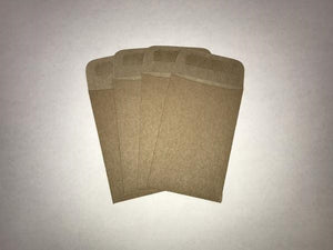 Coin Envelopes - 5,71 x 8,89 cm - Natural - 250 pcs.