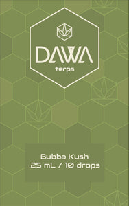 Bubba Kush .25 ml / 10 drops