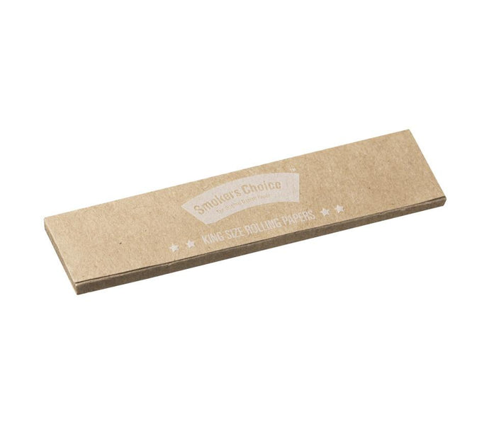 King Size Rolling Papers Natural
