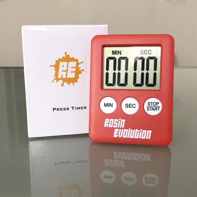 Press Timer - Large display LCD digital timer with magnet