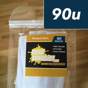 Rosin Screen Bags - 90 micron mesh - (5,08 x 7,62 cm)