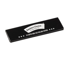 Super King Size Rolling Papers Black