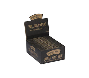 Super King Size Rolling Papers Natural