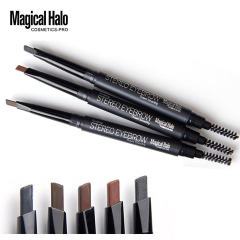 Magical Halo Automatic Eyebrow Waterproof  Pencil & brush