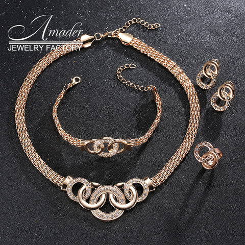 Vintage jewelry sets Nigerian African collier Necklace Earring set