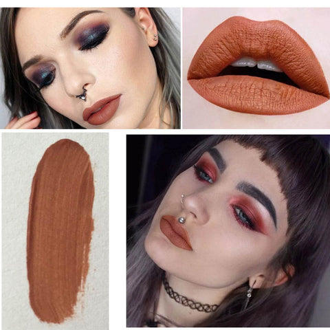 Beauty Matte Lip Tint Waterproof Gloss Matte Metallic Lips Pencil