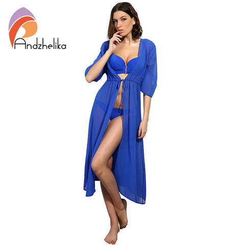 Swimsuit Sexy Beach Cover-Ups Chiffon Long Dress