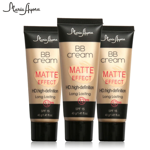 BB Cream Matte Effect HD. Natural Perfect Cover for Face SPF15