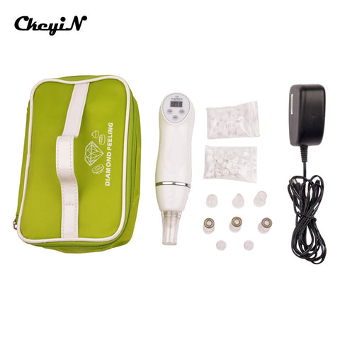 Face beauty Tools Multifunction 6 Tips Dermabrasion Peeling Machine Facial Skin Care Remove Scars