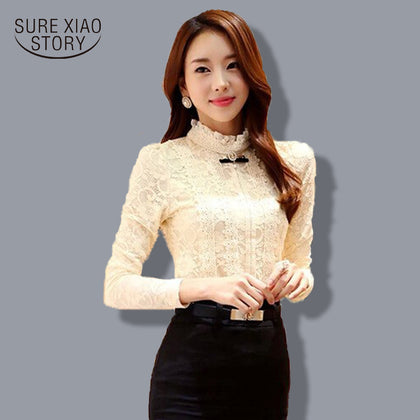 fashion  Blouses / Shirts  Lace Shirt