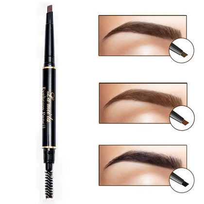 Double-ended High Quality Eyebrow Pencil With Mascara