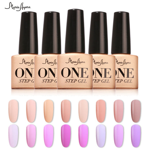 Perfect One Step Nail Polish Gel 3 in 1 UV LED Soak off Long Lasting Gel Polish