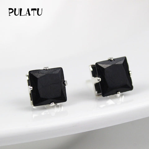 9 Color Square Earring